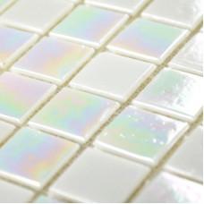Iridescent Glass Mosaic Tiles Bathroom Wall Backsplash Kitchen florescence Mosaics Mirror Tiles Square Crystal Glass Tile YP61