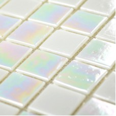 Iridescent Glass Mosaic Tiles Bathroom Wall Backsplash Kitchen florescence Mosaics Mirror Tiles Square Crystal Glass Tile YP61