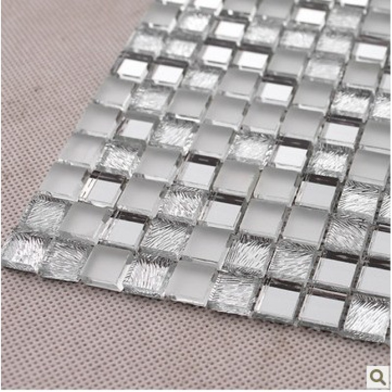 Glass Mosaic Wall Stickers Mirror Tile Backsplash Z181 Crystal Glass Mirrored Backsplash Tile 3 5 Bathroom Mirror