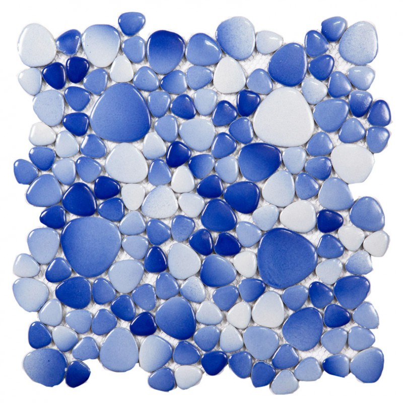 Innovative Another Beautiful Set Of Pebble Mosaics  Be Installed On Bathroom Walls, And Help Recreate A Great, Natural Environment The Rocks Come In Natural Finish And Are Not Polished The Mixed Color Mosaic Includes A Mix Of Light