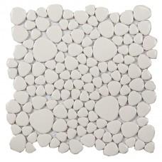 pebble porcelain tiles glazed ceramic mosaic white kitchen tile backsplash ZYS9 swimming pool outdoor flooring bathroom wall tiles