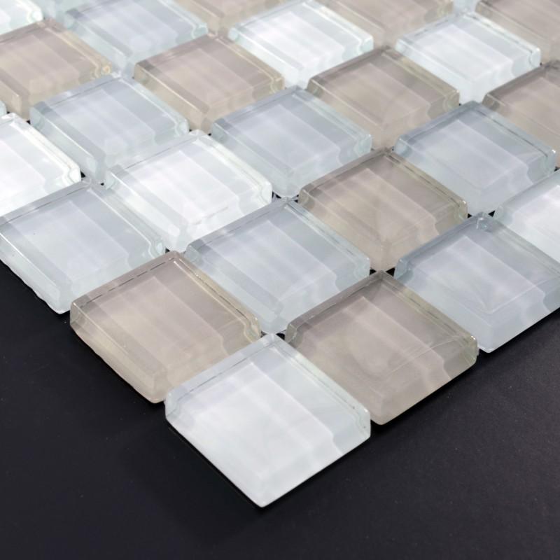 crystal glass tile sheets square kitchen backsplash tile