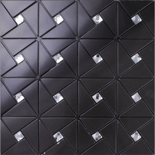 Awesome Black Alucobond Tile Self Adhesive Aluminum Composite Crystal Glass Diamond Mosaic Peel And Stick Backsplash Kitchen Wall Tiles Alt4061 Beutiful Home Inspiration Truamahrainfo