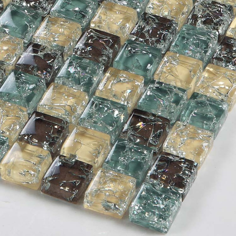 glass tile backsplash ideas bathroom and kitchen shower wall tiles