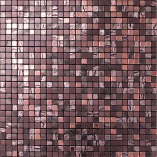 Brown alucobond tile plastic mounted self-sticker aluminum composite panel adhesive mosaic sheets cheap peel and stick wall tiles MA31010