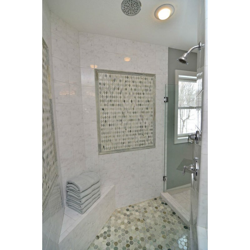 ... Mother Of Pearl Shell Tile Diamond Sheets Iridescence Seashell Mosaic  3d Designs Kitchen Backsplash Tiles Bathroom