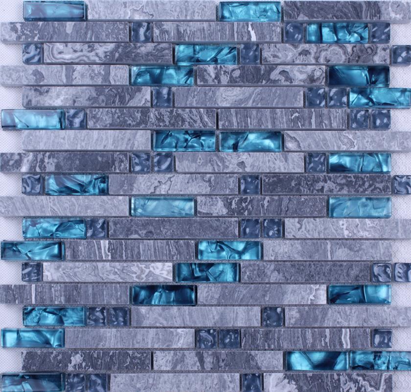 Stone Glass Tiles For Kitchen Bathroom Wall And Backsplash