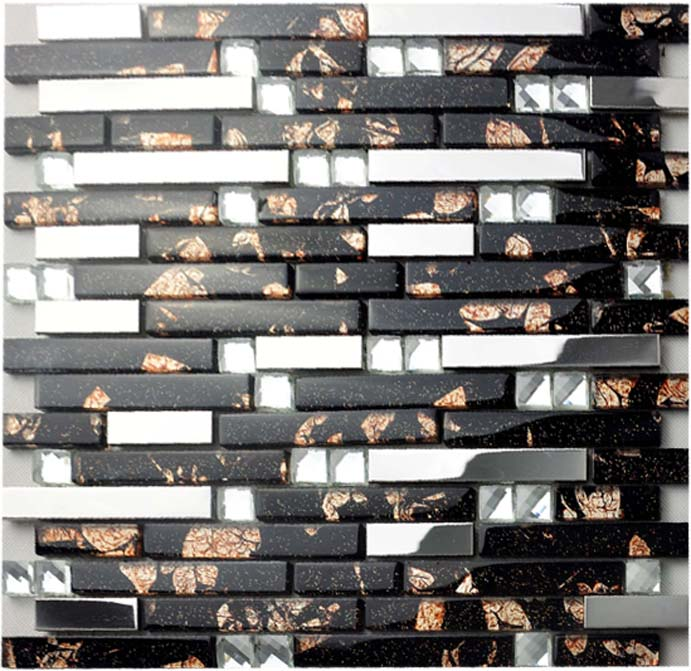 Cheap Kitchen Tile: Glass And Metal Backsplash Tiles For Kitchen And Bathroom