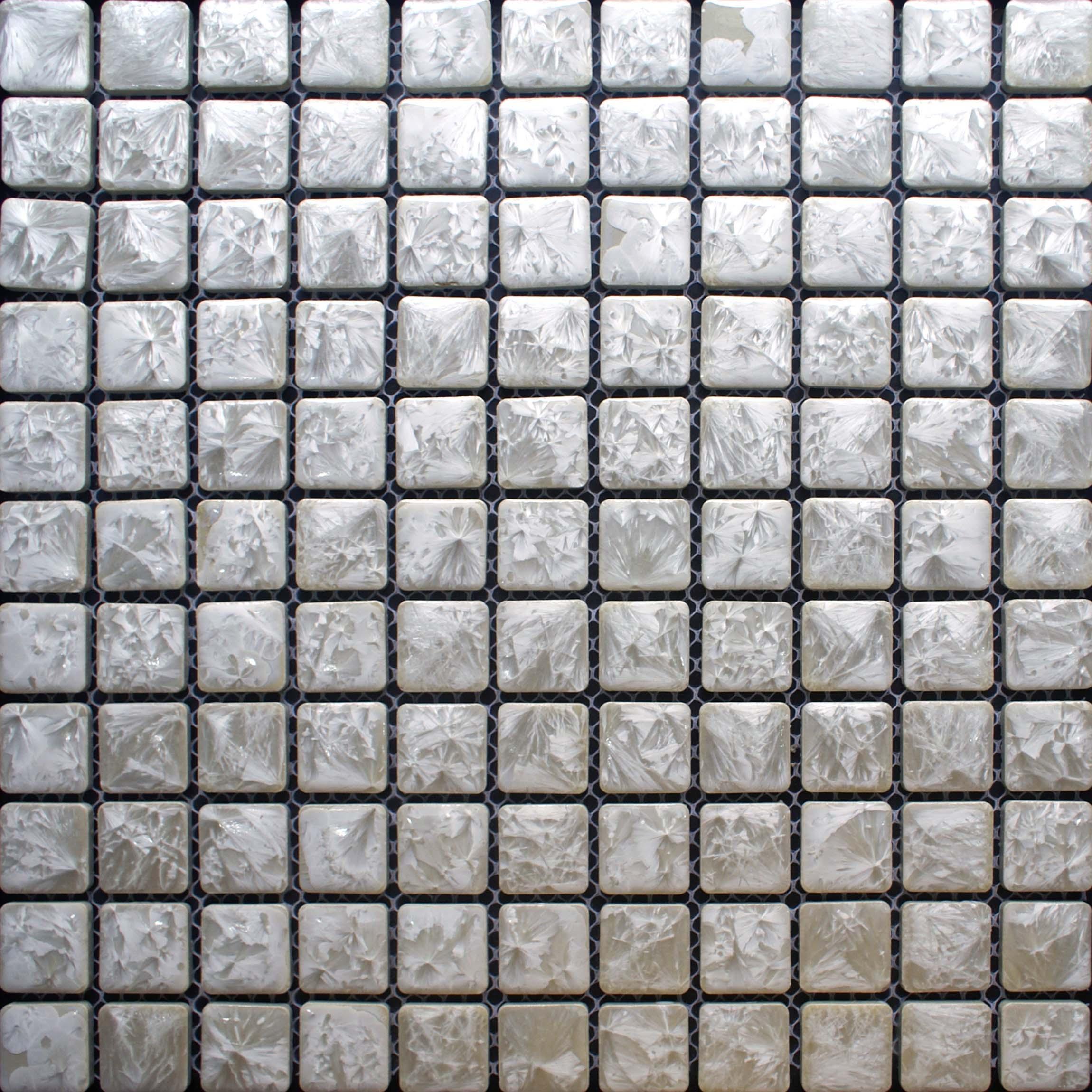 Art Décor: Porcelain Mosaic Tile Backsplash Bathroom Wall Decor Tiles