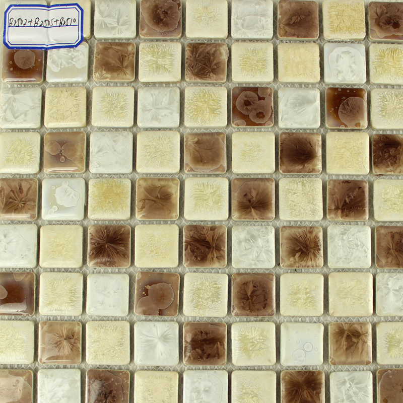 Glazed Porcelain Tile Backsplash Kitchen Bathroom Wall Stickers B2510 Mosaic Floor Tiles Ceramic Pool