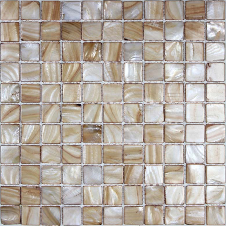 Shell Tile Mosaic Art Bathroom Wall Stickers Fresh Water