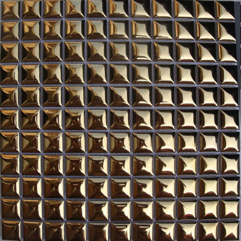 Porcelain tile kitchen backsplash ideas bathroom plating gold ...