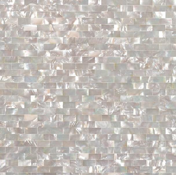 Seashell Tile Subway Cheap Backsplash Tiles For Kitchen