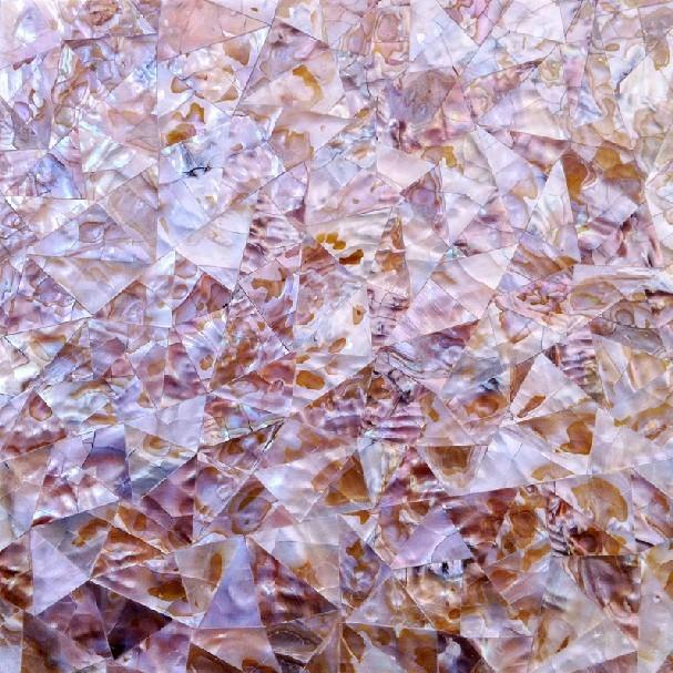 Seashell Mosaic Sheets Wall Backsplash Ideas Natural