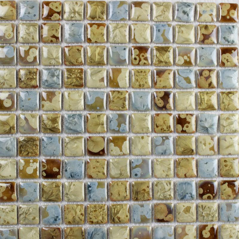 italian porcelain tile glazed mosaic kitchen backsplash