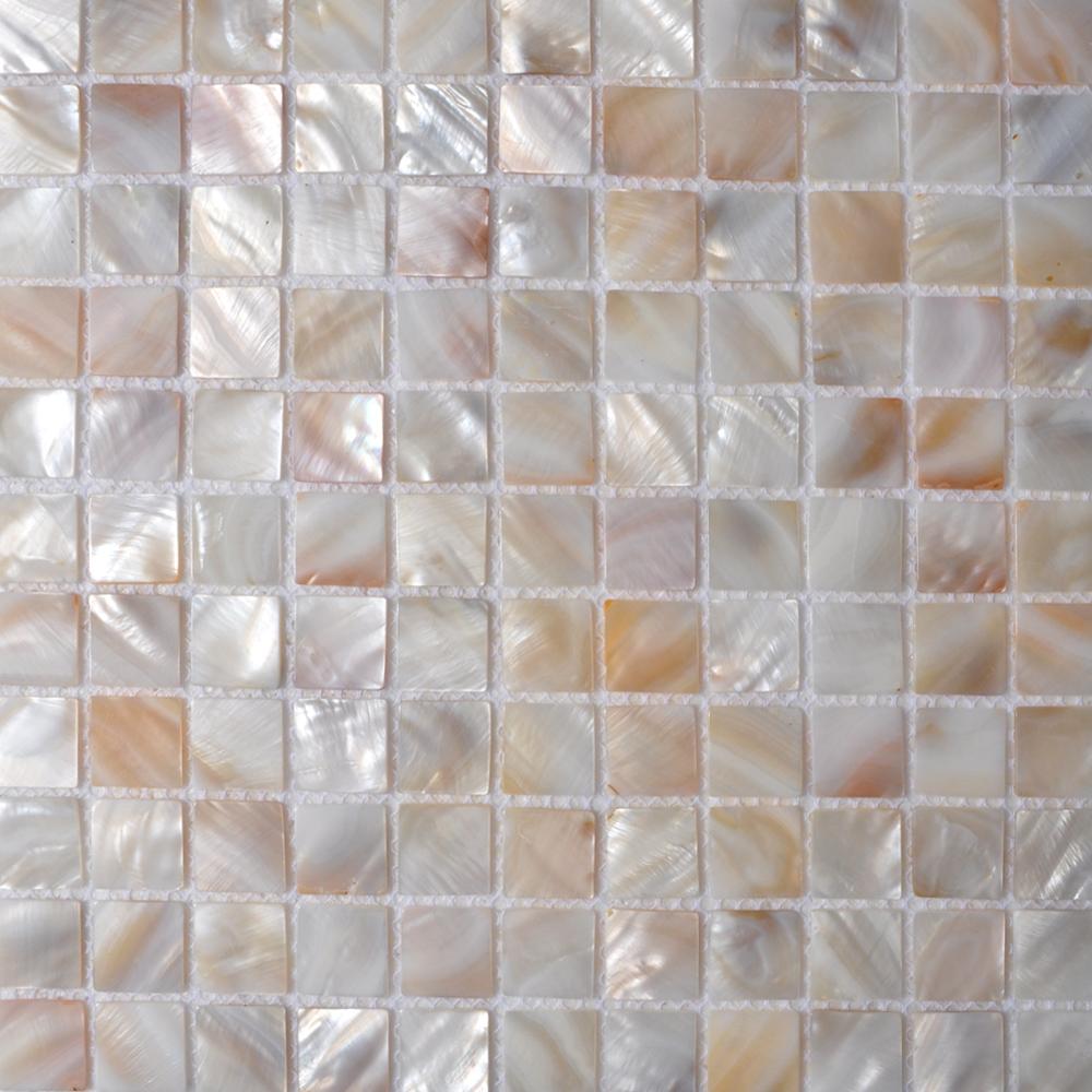 Seashell Tiles Kitchen