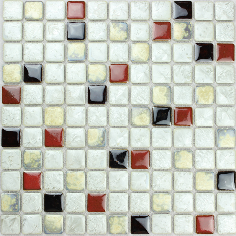 Porcelain Tile Mosaic Glazed Ceramic Bathroom Wall Decor