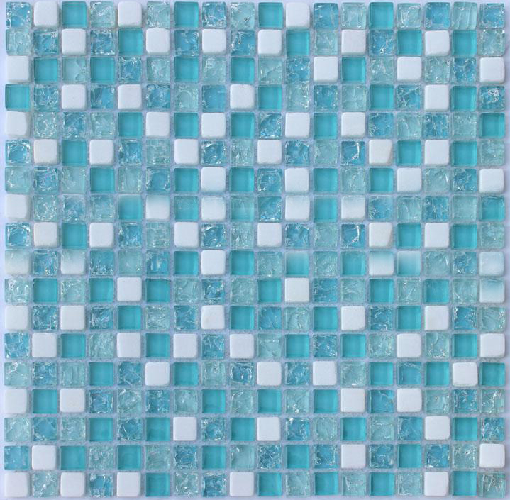Crystal Gl Mosaic Tile Sheet Stbl001 Kitchen Backsplash Floor Stickers Design Bathroom Shower Pool Transpa