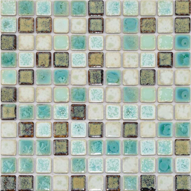 Porcelain Tile Backsplash Mix Colors Ceramic Wall Tiles