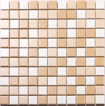 Beige And White Porcelain Mosaic Glazed Tile Swimming Pool