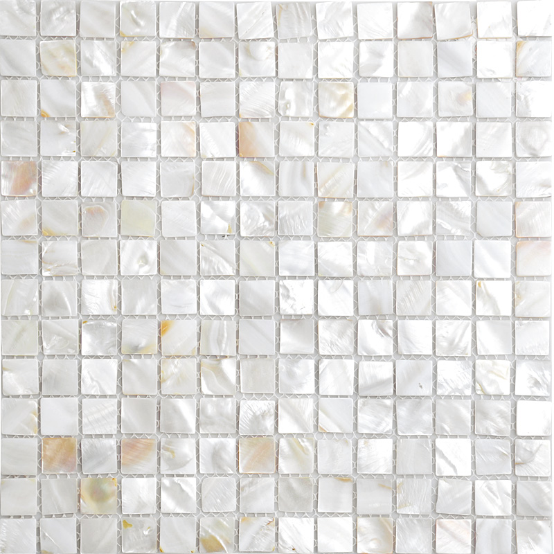 Natural Shell Mosaic Sheet Kitchen Backsplash Tiles Designs Floor