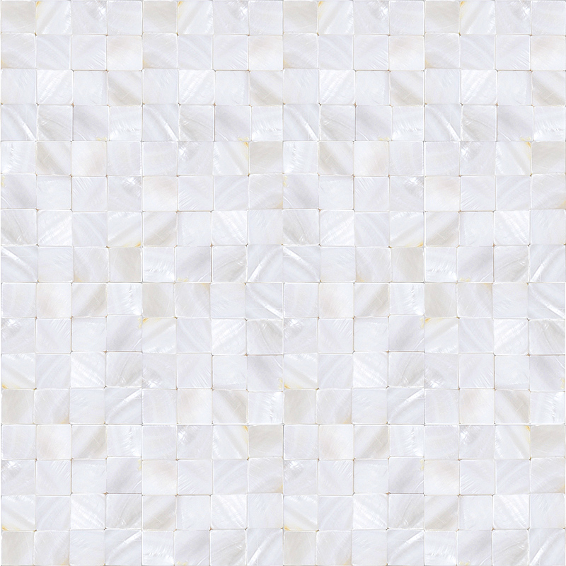 White Mother Of Pearl Tiles For Kitchen And Bathroom Natural Shell  Materials Seamless Seashell Tiles Backsplash ...