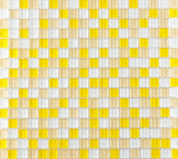 Yellow glass tile backsplash ideas for kitchen walls glossy crystal mosaic  | Bravotti.com - Yellow Glass Tile Backsplash Ideas For Kitchen Walls Glossy