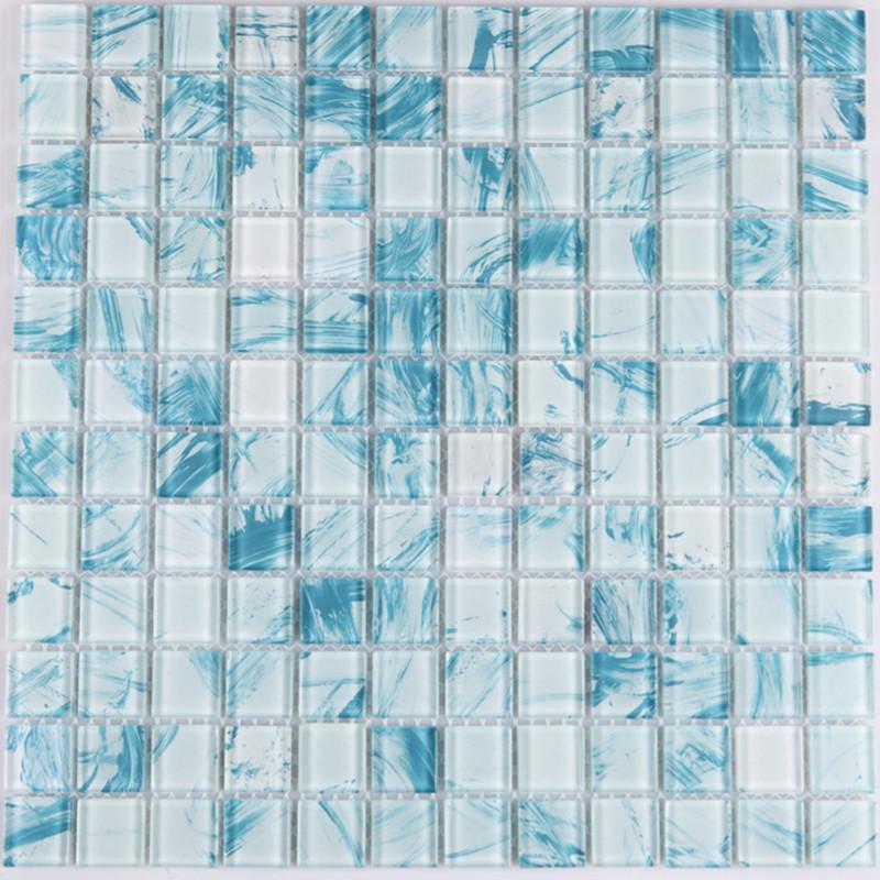 Crystal Gl Mosaic Sheet Wall Stickers Kitchen Backsplash Tile Paint Art Design Bathroom Shower Pool Yf Mwl29