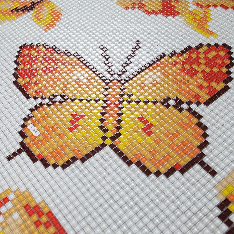 Glass Mosaic Tile Crystal Backsplash Wall Tiles puzzle Mosaic ...